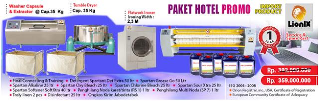 paket laundry hotel