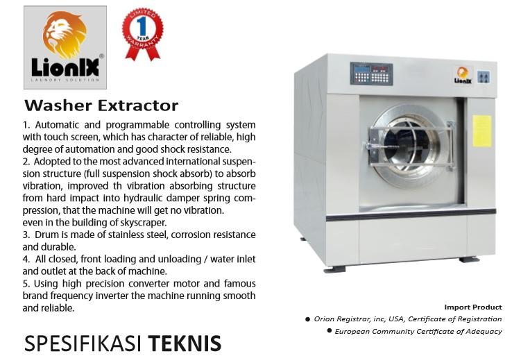 mesin cuci kapasitas 30 kg