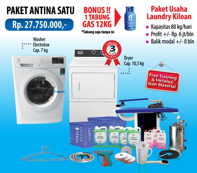 kredit paket usaha laundry