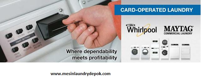 mesin laundry kartu