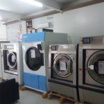 mesin laundry hotel