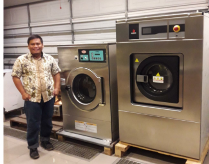 Mesin Laundry Hotel
