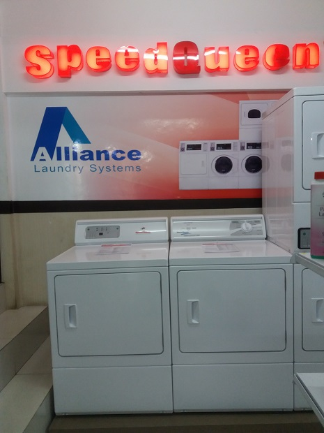 mesin pengering laundry merk speed queen